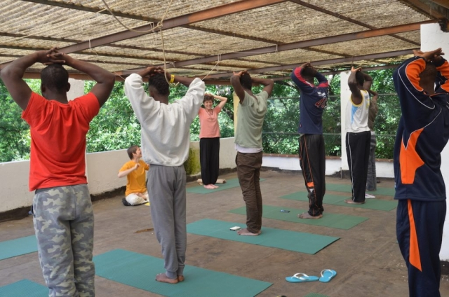 refugee-yoga tools for inner peace