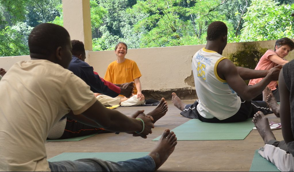 yoga for refugees tools for inner peace