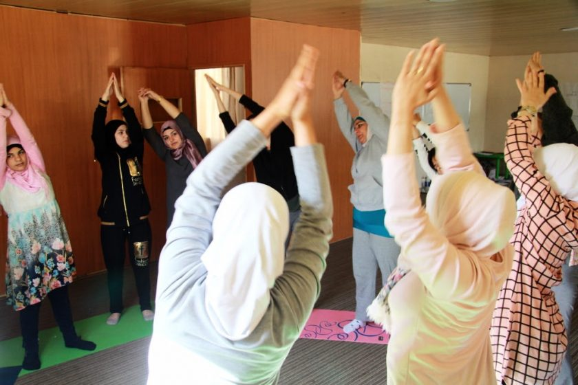 yoga for peace lebanon project