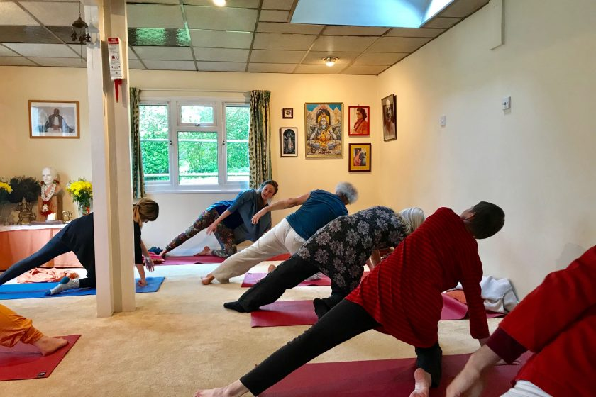 yoga for refugees training patanjali centre uk